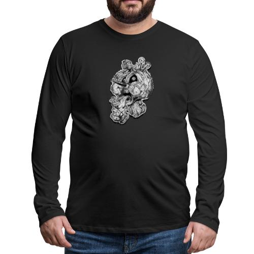 Icecream Haloween Vintage - Männer Premium Langarmshirt
