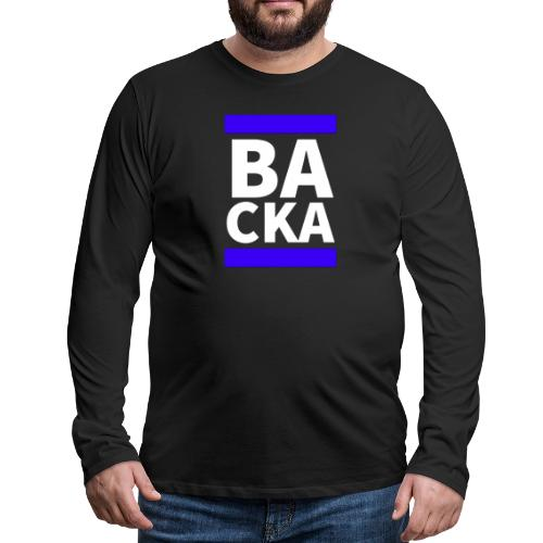 Backa - Långärmad premium-T-shirt herr