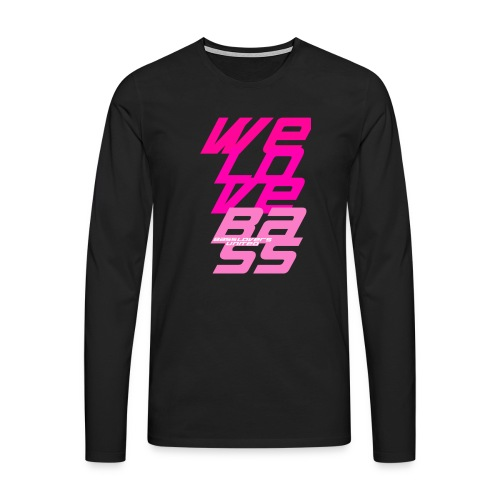welovebass009 - Männer Premium Langarmshirt