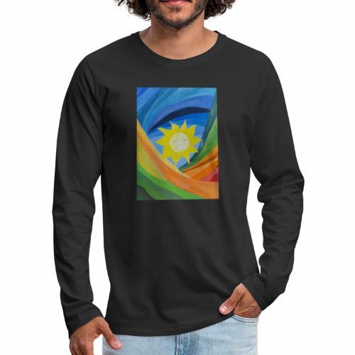 lachende-sonne - Männer Premium Langarmshirt
