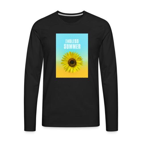 sunflower endless summer Sonnenblume Sommer - Men's Premium Longsleeve Shirt