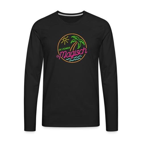 De Zomer is Magisch - Mannen Premium shirt met lange mouwen