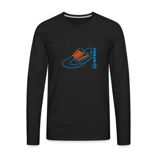 DrumNbass is Sport - Männer Premium Langarmshirt