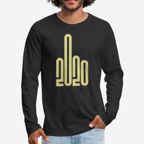 covid corona 2020 - Männer Premium Langarmshirt
