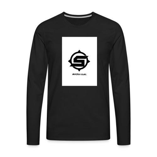 Syntex Clan - Långärmad premium-T-shirt herr