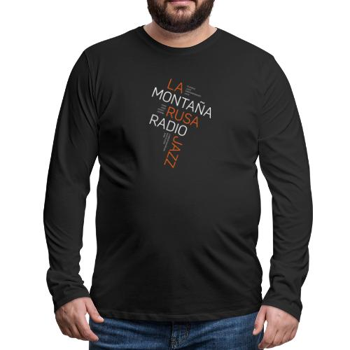 Jazz a 45 grados - Camiseta de manga larga premium hombre