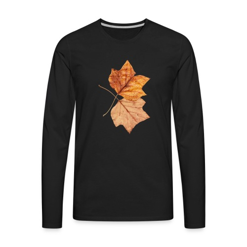 Blätter - Männer Premium Langarmshirt