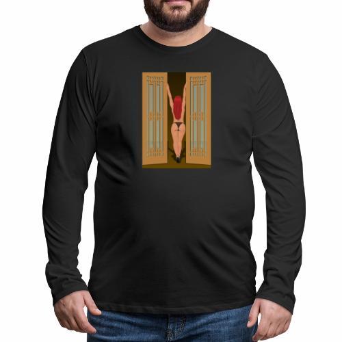Frau - Männer Premium Langarmshirt
