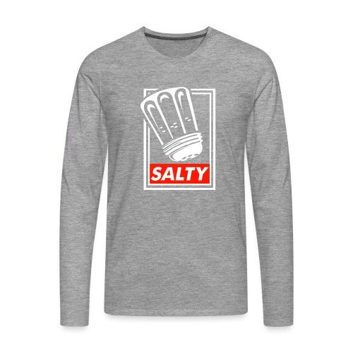 Salty white - Men's Premium Longsleeve Shirt