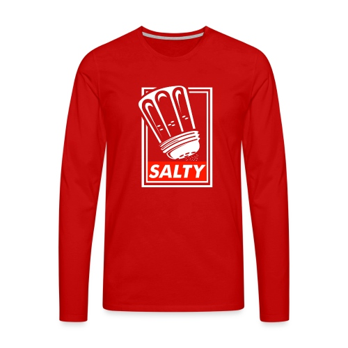 Salty white - Men's Premium Longsleeve Shirt