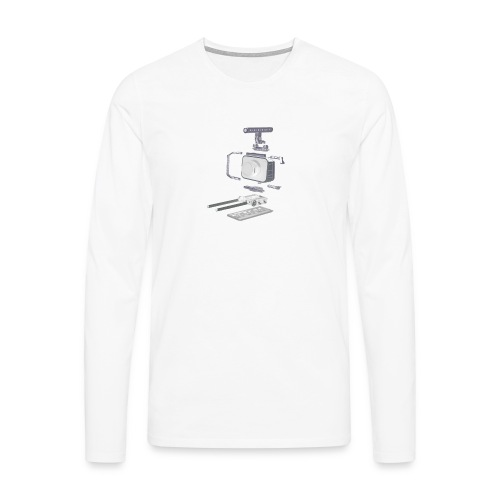 VivoDigitale t-shirt - Blackmagic - Maglietta Premium a manica lunga da uomo
