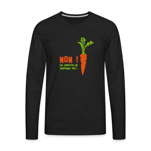 carottes ai - T-shirt manches longues Premium Homme