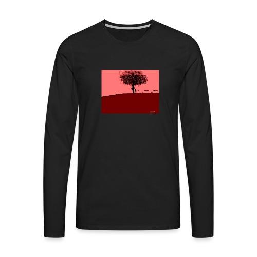 albero_0001-jpg - Maglietta Premium a manica lunga da uomo