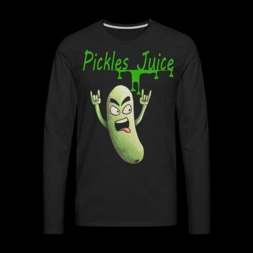 pickles - T-shirt manches longues Premium Homme