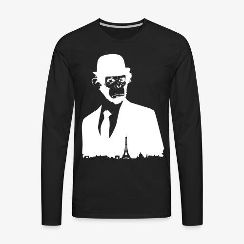 COLLECTION *WHITE MONKEY PARIS* - T-shirt manches longues Premium Homme