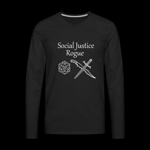 Social Justice Rogue - Men's Premium Longsleeve Shirt