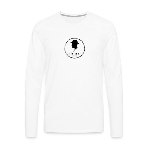 Tik Tok Clothing - Herre premium T-shirt med lange ærmer