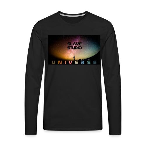 Universe - Maglietta Premium a manica lunga da uomo