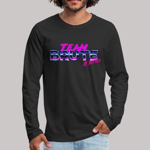 Team BRUTE Neon Pink - Men's Premium Longsleeve Shirt