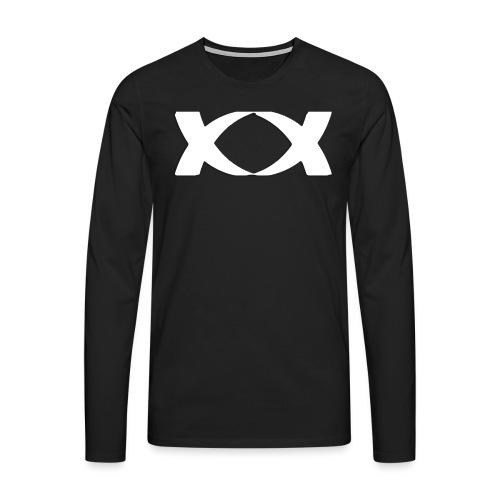watermark big png - Men's Premium Longsleeve Shirt