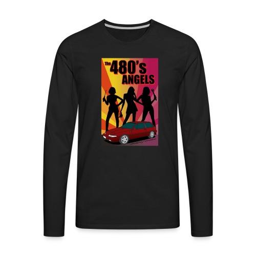 480's Angels - T-shirt manches longues Premium Homme