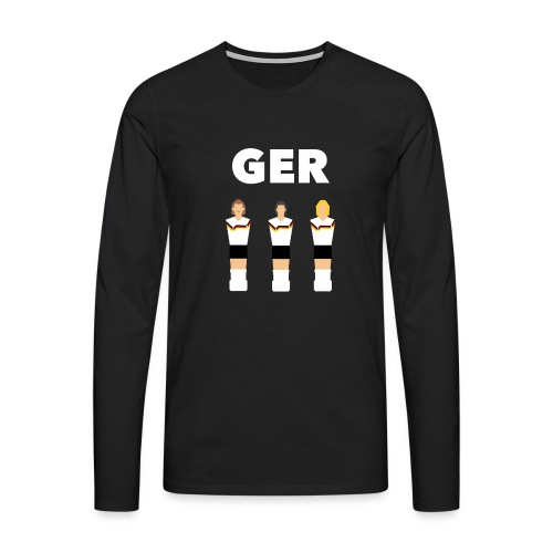 GER 1990 - Männer Premium Langarmshirt