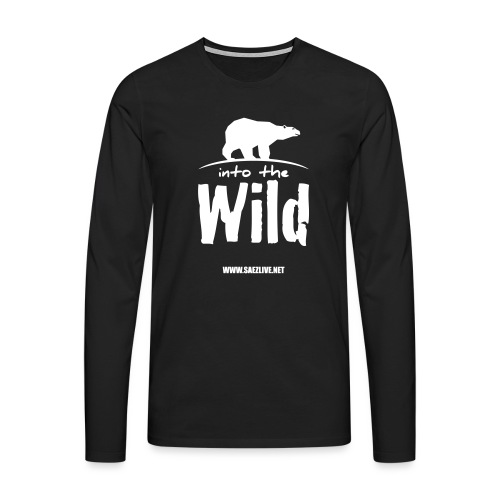 Into the wild (version light) - T-shirt manches longues Premium Homme