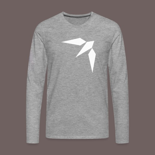 GBIGBO zjebeezjeboo - Rock - Hirondelle - T-shirt manches longues Premium Homme