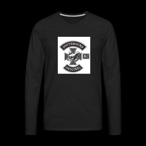 SOUTHBOUND - Miesten premium pitkähihainen t-paita