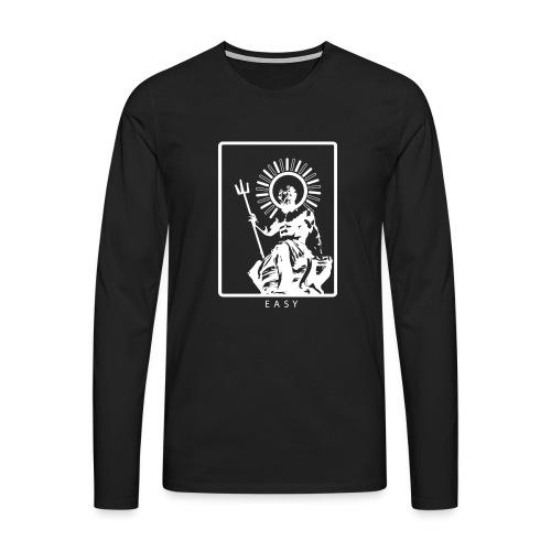 POSEIDONE - Maglietta Premium a manica lunga da uomo