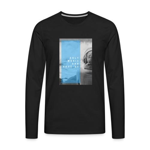Only Music - Mannen Premium shirt met lange mouwen