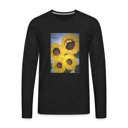 SonnenblumeIMG 20180815 090758 - Männer Premium Langarmshirt