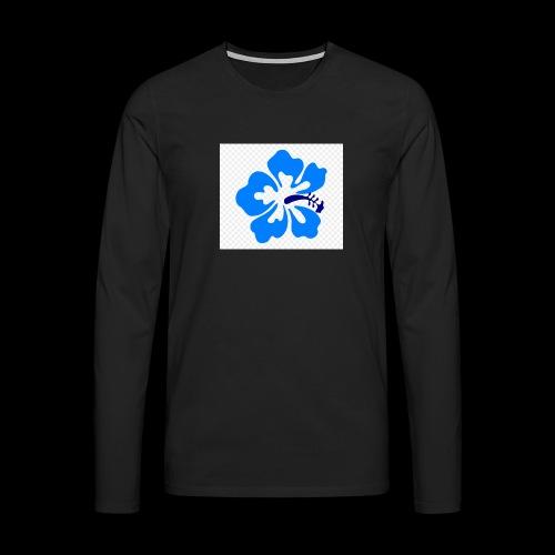 hawaiian flower - Men's Premium Longsleeve Shirt