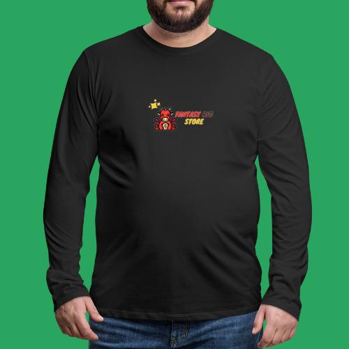 Fantasy big store - Maglietta Premium a manica lunga da uomo