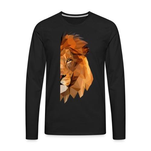 LION - MINIMALISTE - T-shirt manches longues Premium Homme