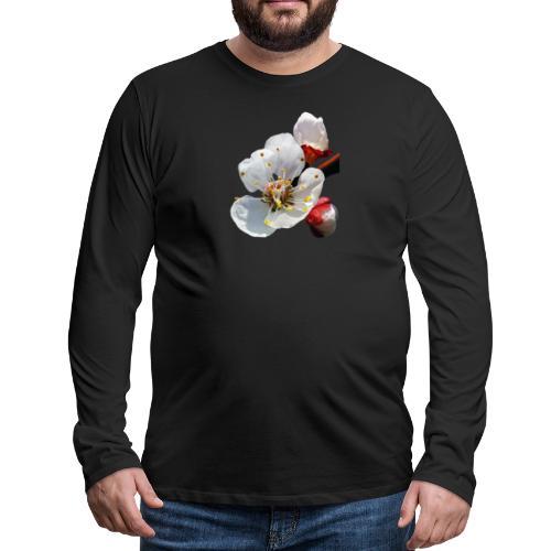 TIAN GREEN Garten - Marillenblüte 2020 - Männer Premium Langarmshirt