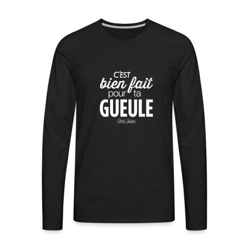 Bien fait - T-shirt manches longues Premium Homme