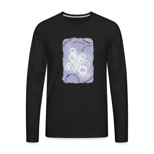 I AM MUCH MORE (donna/woman) - Maglietta Premium a manica lunga da uomo