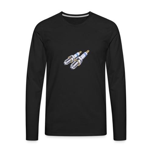 - bujia - - Camiseta de manga larga premium hombre