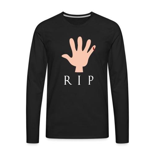 RIP Littlefinger - GoT - Männer Premium Langarmshirt