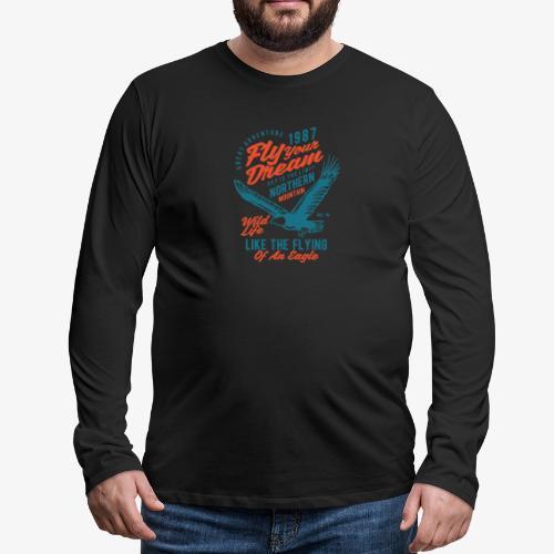 Fais voler ton rêve - T-shirt manches longues Premium Homme