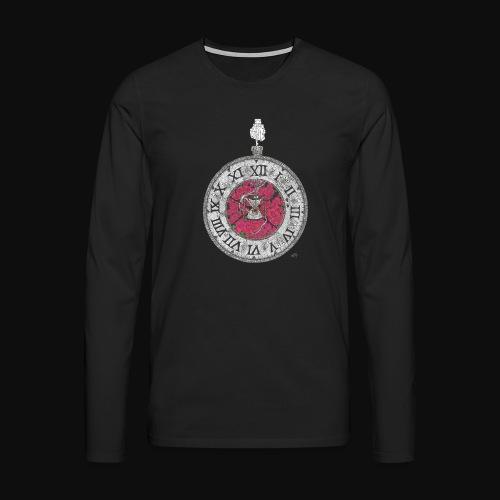 L'horloge de la mort - T-shirt manches longues Premium Homme