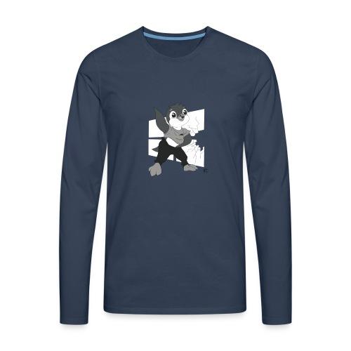 Le pingouin de Nice - T-shirt manches longues Premium Homme