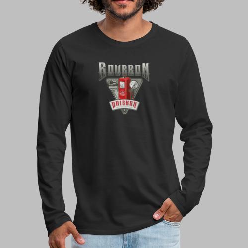 Bourbon Whiskey - Männer Premium Langarmshirt