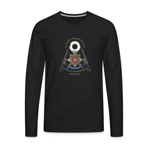 COM SV KLEUR1 TBH - Mannen Premium shirt met lange mouwen