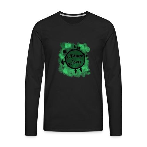 Naturliebhaber - Männer Premium Langarmshirt