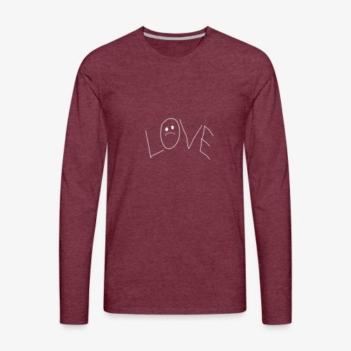 Lil Peep Love Tattoo - Männer Premium Langarmshirt