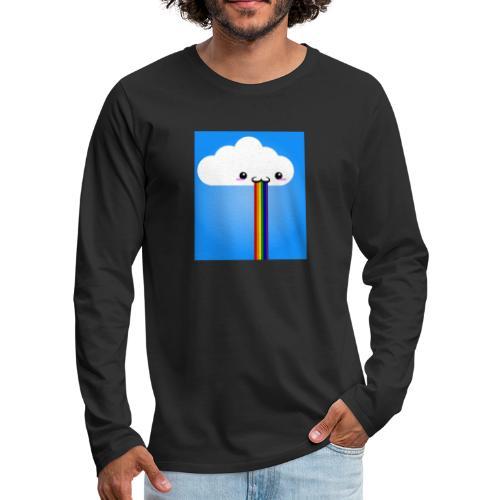 rainbow - Männer Premium Langarmshirt