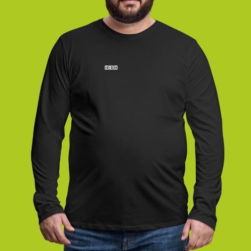 squary - T-shirt manches longues Premium Homme