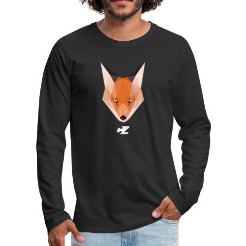 CZ X GEOMETRICAL FOX - Camiseta de manga larga premium hombre